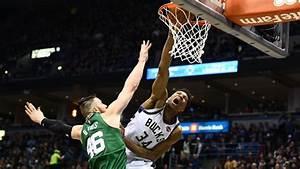 Giannis Antetokounmpo has tried so hard to dunk on Aron ...