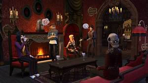 The Sims 4 Vampires: New Screenshot + Official