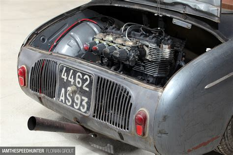 renault dauphine engine body by renault heart by yamaha speedhunters