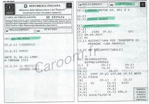 Quel Document Pour Une Carte Grise : comment lire une carte grise italienne exemple traduit ~ Medecine-chirurgie-esthetiques.com Avis de Voitures
