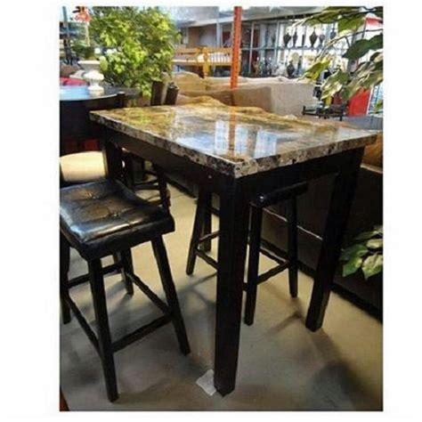 Pub Table Set 3 Piece Bar Stools Kitchen Dining Furniture