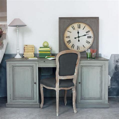 cuisine maisons du monde horloge grise quot manufacture quot industriel photo 12 20 une