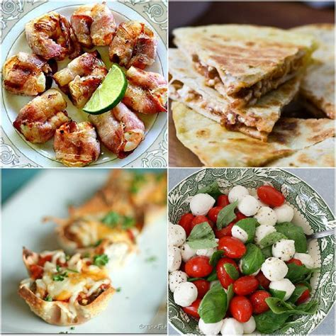 easy and dishes easy savory potluck dishes appetizers pinterest