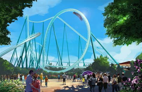 seaworld announces roller coaster
