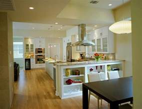 harmonious kitchen and living room creating an open kitchen and dining room