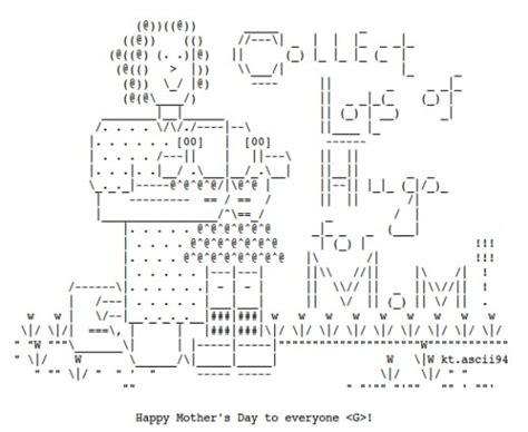 13 Best Ascii Art Hugs Images On Pinterest