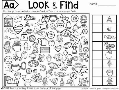 Hidden Puzzles Printable Puzzle Objects Letter