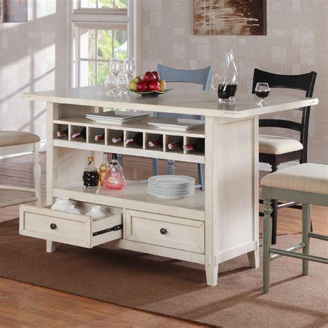 cottage kitchen furniture four seasons kitchen island wayfair