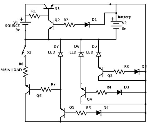 Batteries Lead Acid Battery Charger Circuit Electrical