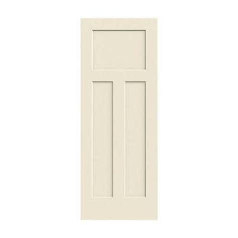 3 panel interior doors home depot jeld wen 30 in x 80 in craftsman smooth 3 panel solid