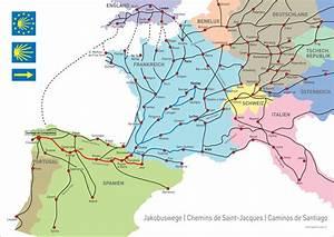 Porto Nach Schweiz : santiago de compostela jakobsweg karte kleve landkarte ~ Watch28wear.com Haus und Dekorationen