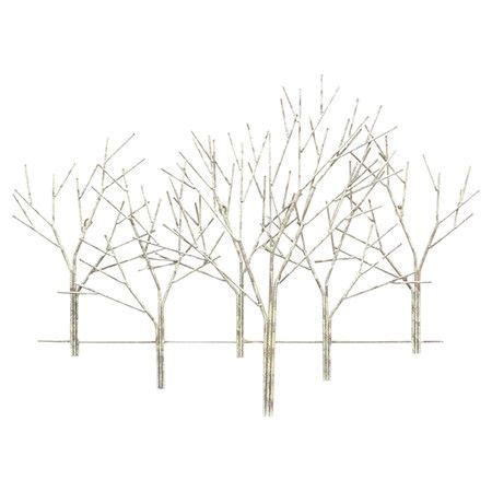 found it at wayfair winter orchard metal wall home improvement metals