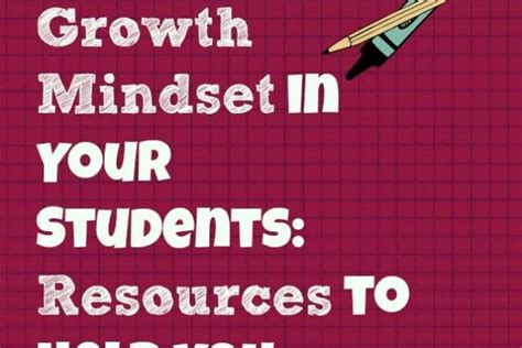 9 best images about growth mindset on student