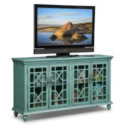 Teal Accent Cabinet by Grenoble Distressed Blue Media Credenza Value City Furniture