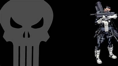Punisher Marvel Comics Skull Wallpapers Skulls Animation