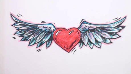 astuce cuisine facile comment dessiner un cœur avec des ailes minutefacile com