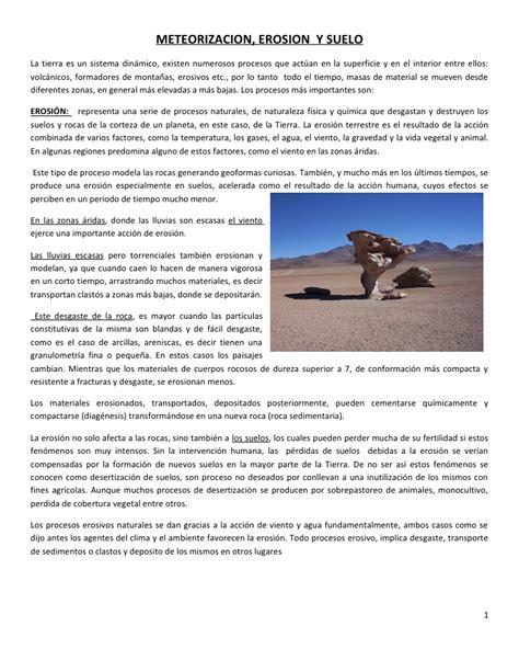 La Peste Resumen Corto by Meteorizacion Y Suelo