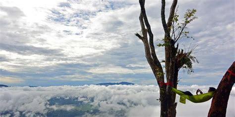 merasakan sensasi negeri  atas awan datang