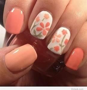 44 lovely flower nail design ecstasycoffee