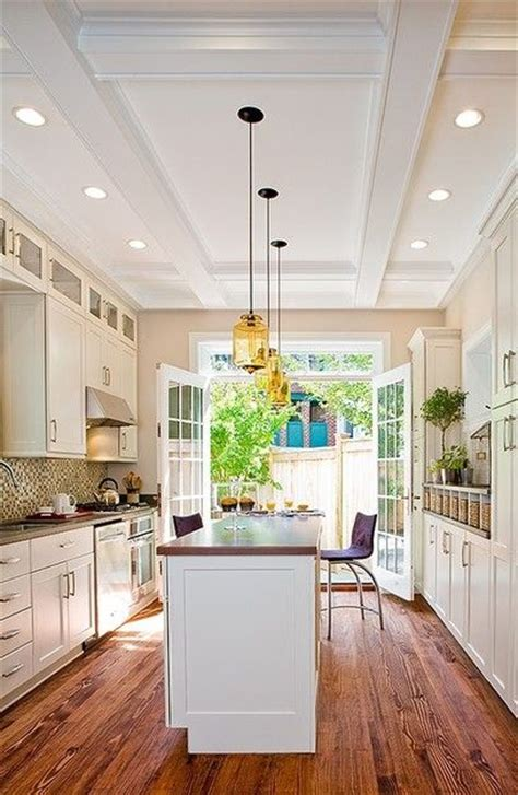 kitchen island length galley kitchen design with a island the