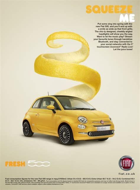 Fiat 500 Ad by Fiat 500 Quot Fiat 500 Fresh Squeeze Me Quot