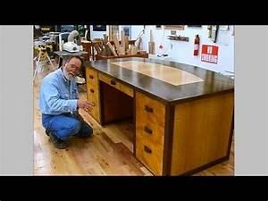 Making a Veneered Executive Desk Part 6-1, Drawer Parts ...