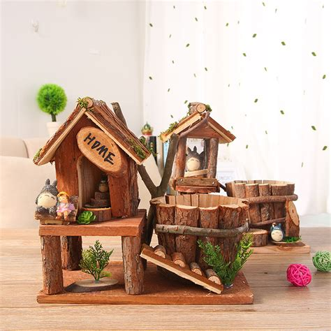 garden decoration articles wooden craft home furnishing articles garden decoration