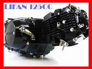 4 Up  Lifan 125cc Motor Engine Xr50 Crf50 Xr 50 70 Ct70 Ssr 125 M En18