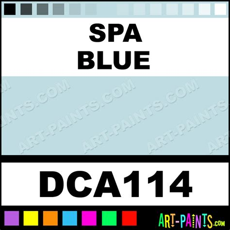 spa blue crafters acrylic paints dca114 spa blue paint