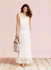 Robe Blanche Longue Boheme : panier ~ Preciouscoupons.com Idées de Décoration