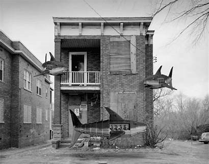 Gifs Surreal Domonkos Bill Animated Buildings Historic