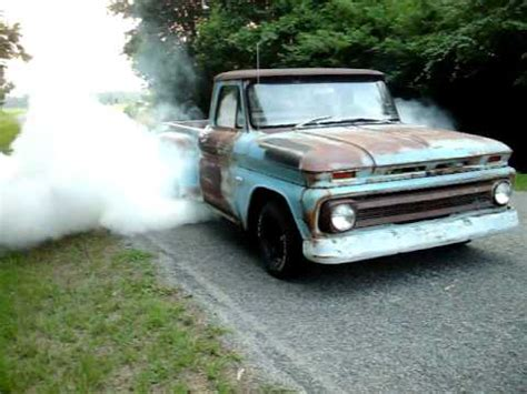 chevy  burnout youtube