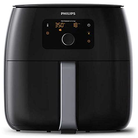 air fryer capacity philips qt amazon fryers turbostar