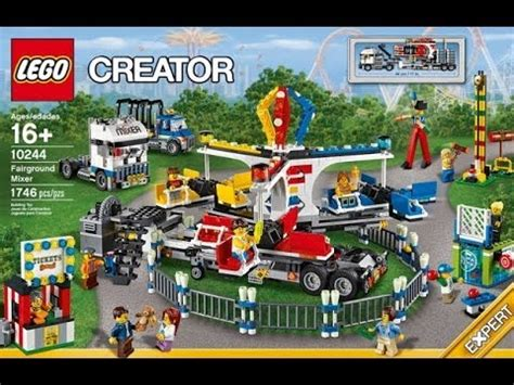 lego creator 16 new 2014 lego creator fairground mixer 10244