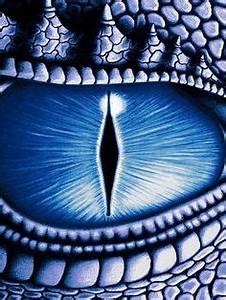 Beware the glint in a dragon's eye.... Cold as ice to the ...