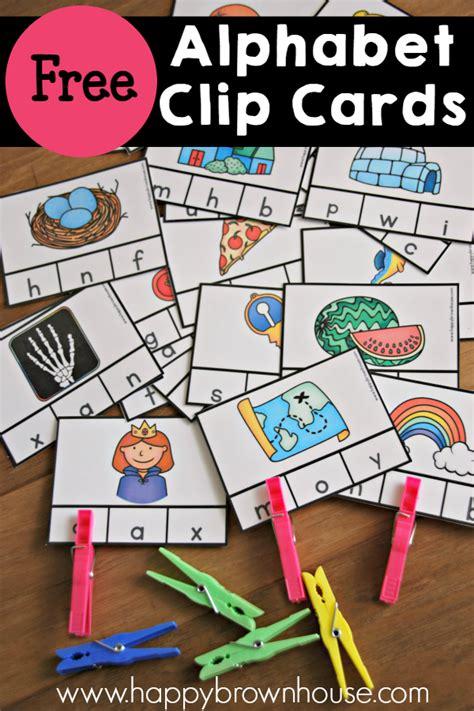 beginning sounds clip cards  homeschool deals