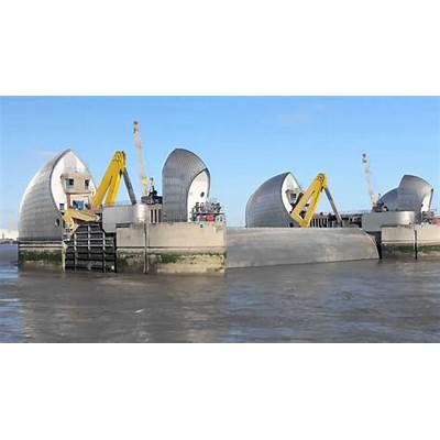 Thames Barrier - Great Attractions (United Kingdom) YouTube