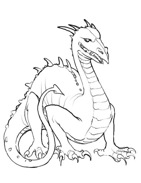 Coloring Page Dragon coloring pages 15