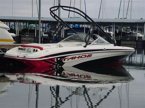 Tahoe Boat Graphics by Tahoe Q5i Edition Ski Wakeboard Boat 2009 For Sale