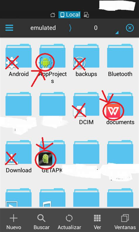 android create folder and make es file explorer add icon of my app stack overflow