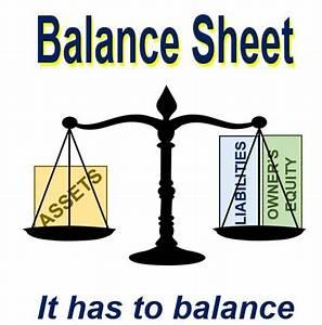 Balance Sheet Clipart