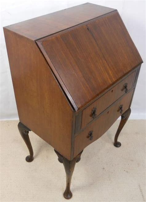 queen anne writing desk for sale queen anne style mahogany writing bureau desk 158191