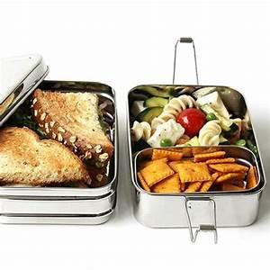 Käse Aufbewahren Ohne Plastik : ecolunchbox three in one edelstahlbrotdose ohne plastik ~ Watch28wear.com Haus und Dekorationen