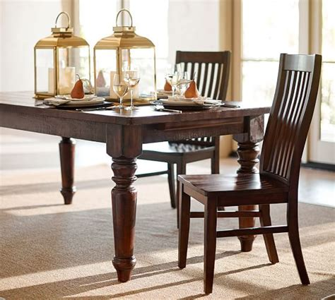 pottery barn tables sumner extending dining table pottery barn