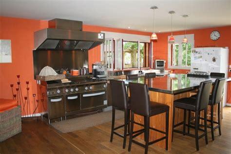 deco cuisine orange la cuisine orange jpg photo deco maison idées
