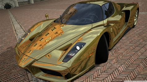 Car Wallpapers Hd Enzo For Sale by Enzo Gold 4k Hd Desktop Wallpaper For 4k Ultra Hd