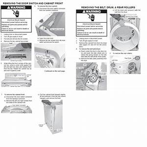 Kenmore Gas Dryer Parts Diagram