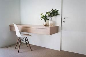 Console Murale Suspendue : console bois suspendue ~ Premium-room.com Idées de Décoration