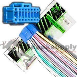 pioneer avh p4900dvd avh p5700dvd avh p5000dvd avh p5100dvd wire power harness ebay