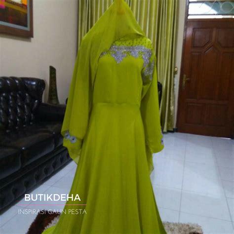 hijau lemon butik jahit pesan jual baju gaun